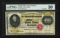 Large Size:Gold Certificates, Fr. 1225h $10000 1900 Gold Certificate PMG Very Fine 30.. ...
