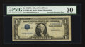 Error Notes:Inverted Third Printings, Fr. 1608 $1 1935A Silver Certificate. PMG Very Fine 30.. ...