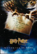 """Movie Posters:Fantasy, Harry Potter and the Sorcerer's Stone (Warner Brothers, 2001). OneSheet (27"""" X 40"""") DS Style A Advance. Fantasy.. ..."""