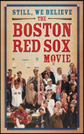 "Movie Posters:Sports, Boston Red Sox Sports Lot (Various, 2004). One Sheets (2) (27"" X 39"") and (27"" X 41""). Sports.. ... (Total: 2 Items)"
