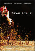 """Movie Posters:Sports, Seabiscuit (Universal, 2003). One Sheet (27"""" X 40"""") DS Advance. Sports.. ..."""