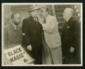 """Movie Posters:Mystery, Black Magic (BEF, 1944). Australian Lobby Cards (7) (11"""" X 14""""). Mystery.. ... (Total: 7 Items)"""