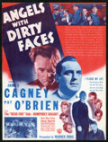 """Movie Posters:Crime, Angels with Dirty Faces (Warner Brothers, 1938). Herald (9"""" X 11.5""""). Crime.. ..."""