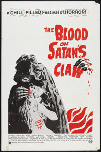 "The Blood on Satan's Claw Lot (Cannon, 1971). One Sheets (4) (27"" X 41""). Horror. ... (Total: 4 Items)"