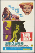 """Movie Posters:Horror, I Saw What You Did Lot (Universal, 1965). One Sheet (27"""" X 41""""), Half Sheet (22"""" X 28""""), and Lobby Card Sets of 8 (2) (11"""" X... (Total: 18 Items)"""