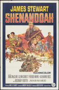 """Movie Posters:Western, Shenandoah Lot (Universal, 1965). One Sheets (2) (27"""" X 41"""") and Lobby Card Set of 8 (11"""" X 14""""). Western.. ... (Total: 10 Items)"""