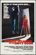 """Movie Posters:Thriller, Strange Shadows in an Empty Room Lot (American International, 1977). One Sheets (2) (27"""" X 41"""") and Mini Lobby Cards (2) (8""""... (Total: 4 Items)"""