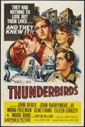 "Movie Posters:War, Thunderbirds (Republic, 1952). One Sheet (27"" X 41""), Herald (8.5""X 10.5""), and Press Flyer (8"" X 11""). War.. ... (Total: 3 Items)"