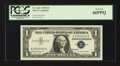 Small Size:Silver Certificates, Fr. 1621 $1 1957B Silver Certificate. PCGS Gem New 66PPQ.. ...