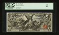 Large Size:Silver Certificates, Fr. 269 $5 1896 Silver Certificate PCGS New 62.. ...