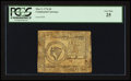 Colonial Notes:Continental Congress Issues, Continental Currency May 9, 1776 $8 PCGS Very Fine 25.. ...