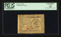 Colonial Notes:Continental Congress Issues, Continental Currency July 22, 1776 $3 PCGS Apparent Very Fine 25.....