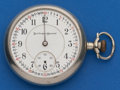 Timepieces:Pocket (post 1900), Burlington 19 Jewel, 16 Size Pocket Watch. ...