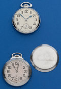 Timepieces:Pocket (post 1900), Two - Swiss 17 Jewel, 16 Size Pocket Watches. ... (Total: 2 Items)
