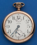 Timepieces:Pocket (post 1900), Waltham 16 Size, 23 Jewel Vanguard Wind Indicator. ...