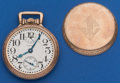 Timepieces:Pocket (post 1900), Waltham 16 Size, 23 Jewel Vanguard Up/Down Indicator. ...