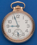 Timepieces:Pocket (post 1900), Elgin 21 Jewel, 16 Size B.W. Raymond. ...