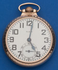 Timepieces:Pocket (post 1900), Elgin 21 Jewel, B.W. Raymond. ...