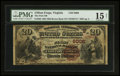 National Bank Notes:Virginia, Clifton Forge, VA - $20 1882 Brown Back Fr. 504 The First NB Ch. #(S)6008. ...