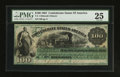 Confederate Notes:1861 Issues, T3 $100 1861 PF-1 Cr. 3.. ...