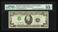 Error Notes:Inverted Third Printings, Fr. 2071-G $20 1974 Federal Reserve Note. PMG About Uncirculated 53EPQ.. ...
