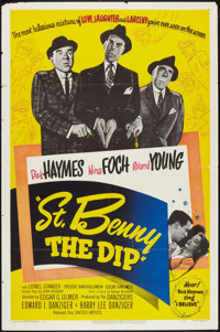 """St. Benny the Dip Lot (United Artists, 1951). One Sheets (11) (27"""" X 41""""), Lobby Card Set of 8 (11"""" X 14&..."""
