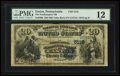 National Bank Notes:Pennsylvania, Easton, PA - $20 1882 Value Back Fr. 580b The Northampton NB Ch. #5118. ...