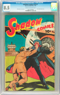 Golden Age (1938-1955):Crime, Shadow Comics V9#1 (Street & Smith, 1949) CGC VF+ 8.5 Cream to off-white pages....