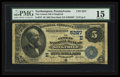 National Bank Notes:Pennsylvania, Siegfried, PA - $5 1882 Date Back Fr. 537 The Cement NB Ch. #(E)5227. ...