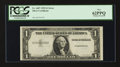 Error Notes:Missing Third Printing, Fr. 1607 $1 1935 Silver Certificate. PCGS New 62PPQ.. ...