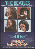 "Movie Posters:Rock and Roll, Let It Be (United Artists, 1970). Japanese B2 (20"" X 28.5""). Rockand Roll.. ..."