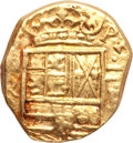 Colombia, Colombia: Felipe IV gold Cob 2 Escudos ND (1621-65),...