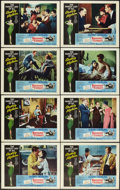 """Movie Posters:Romance, Breakfast At Tiffany's (Paramount, R-1965). Lobby Card Set of 8(11"""" X 14""""). Romance.. ... (Total: 8 Items)"""