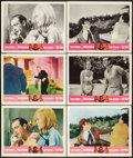 "Movie Posters:James Bond, Goldfinger/Dr. No Combo (United Artists, R-1966). Lobby Cards (6)(11"" X 14""). James Bond.. ... (Total: 6 Items)"
