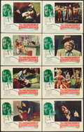 Movie Posters:Horror, The Incredibly Strange Creatures Who Stopped Living and BecameMixed-Up Zombies (Fairway International, 1964). Lobby Card Se...(Total: 8 Items)