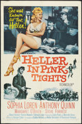 "Movie Posters:Western, Heller in Pink Tights (Paramount, 1960). One Sheet (27"" X 41""). Western.. ..."