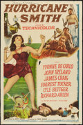 "Movie Posters:Adventure, Hurricane Smith (Paramount, 1952). One Sheet (27"" X 41"").Adventure.. ..."