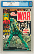 Bronze Age (1970-1979):War, Star Spangled War Stories #154 (DC, 1971) CGC VF+ 8.5 Cream to off-white pages....
