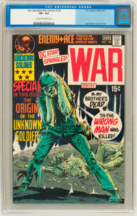Star Spangled War Stories #154 (DC, 1971) CGC VF+ 8.5 Cream to off-white pages