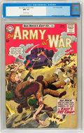 Silver Age (1956-1969):War, Our Army at War #143 (DC, 1964) CGC NM- 9.2 Off-white pages....
