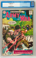 Silver Age (1956-1969):War, Our Army at War #144 (DC, 1964) CGC VF/NM 9.0 Off-white pages....