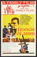 """Movie Posters:Drama, Francis of Assisi Lot (20th Century Fox, 1961). Window Card (14"""" X 22"""") and Photos (12) (8"""" X 10""""). Drama.. ... (Total: 13 Items)"""
