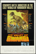 "Movie Posters:Science Fiction, The Valley of Gwangi (Warner Brothers, 1969). One Sheet (27"" X41""). Science Fiction.. ..."
