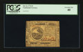 Colonial Notes:Continental Congress Issues, Continental Currency July 22, 1776 $6 PCGS Extremely Fine 40.. ...