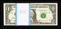 Small Size:Federal Reserve Notes, Low Serial Number Fr. 1922-K* $1 1995 Federal Reserve Notes.Original Pack of 100 Serial Number 1 - 100. Superb Gem CrispUnci...