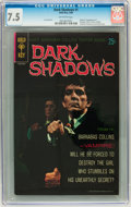 Silver Age (1956-1969):Horror, Dark Shadows #1 (Gold Key, 1969) CGC VF- 7.5 Off-white pages....
