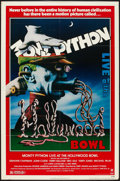 "Movie Posters:Comedy, Monty Python Live at the Hollywood Bowl (Columbia, 1982). One Sheet (27"" X 41""). Comedy.. ..."