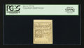 Colonial Notes:Connecticut, Connecticut October 11, 1777 7d Cross-Cut Cancel PCGS About New53PPQ.. ...