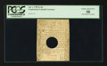 Colonial Notes:Connecticut, Connecticut July 1, 1780 2s 6d Hole Cancelled PCGS Choice About New58.. ...