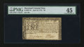 Colonial Notes:Maryland, Maryland April 10, 1774 $8 PMG Choice Extremely Fine 45.. ...